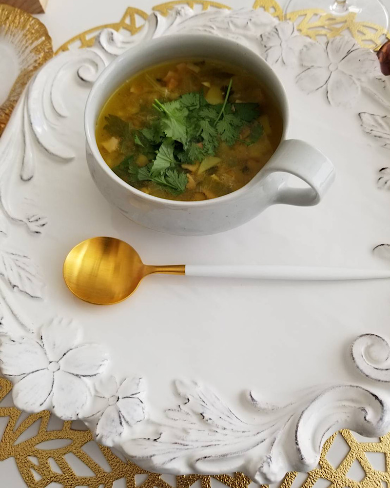玉置さん秋のフレンチ薬膳スープのサムネイル